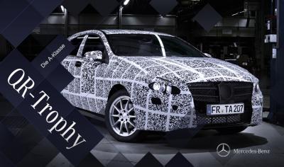 Mercedes-Benz startet Jagd auf die QR-Code Erlkönige