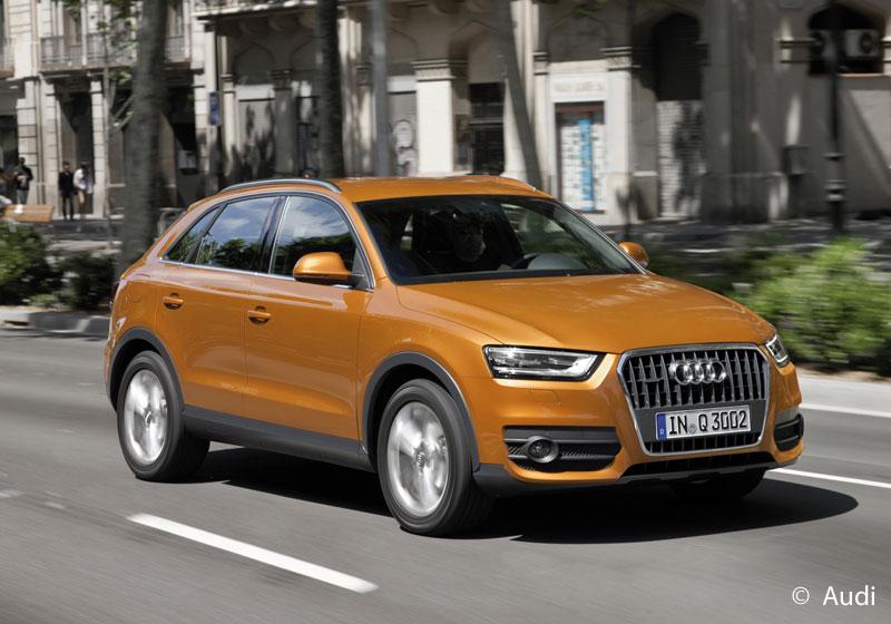 """Audi Q3 ist """"Best in Class"""" bei den Euro NCAP-Crashtests 2011"""
