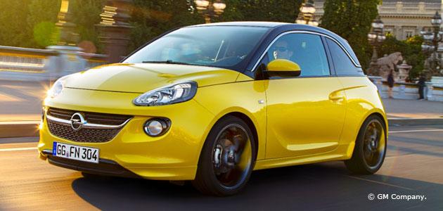 Opel ADAM SLAM mit Sport-Paket