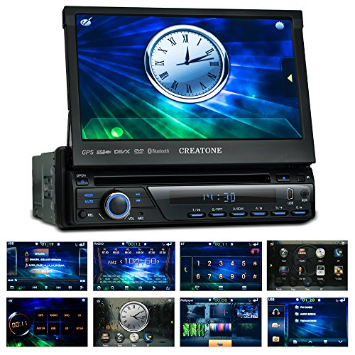 1din autoradio creatone ctn 8423d26 mit gps navigation bluetooth dvd player touchscreen und. Black Bedroom Furniture Sets. Home Design Ideas