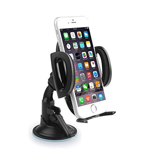 aukey fensterhalterung windschield halterung handy mount. Black Bedroom Furniture Sets. Home Design Ideas