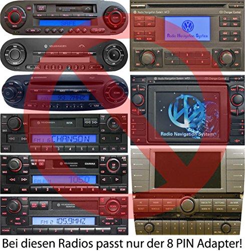 USB SD AUX MP3 Adapter + Bluetooth Freisprechanlage Für VW