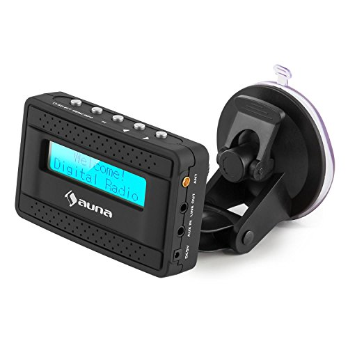 auna dabstate dab digital autoradio adapter bluetooth aux