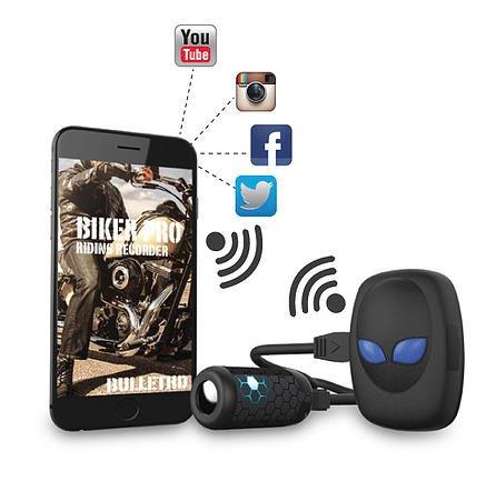 itracker biker pro wi fi motorrad videocam actionkamera. Black Bedroom Furniture Sets. Home Design Ideas