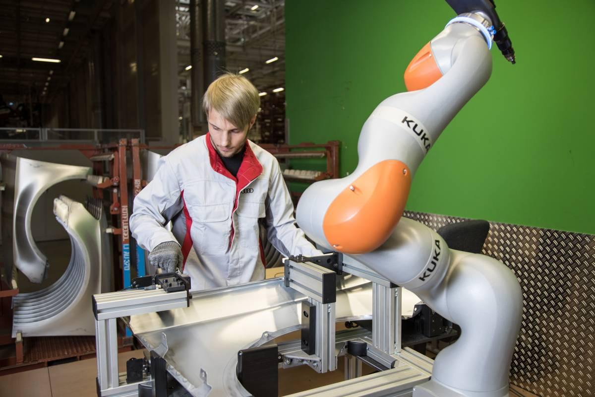 MRK-Roboter in Karobau A3