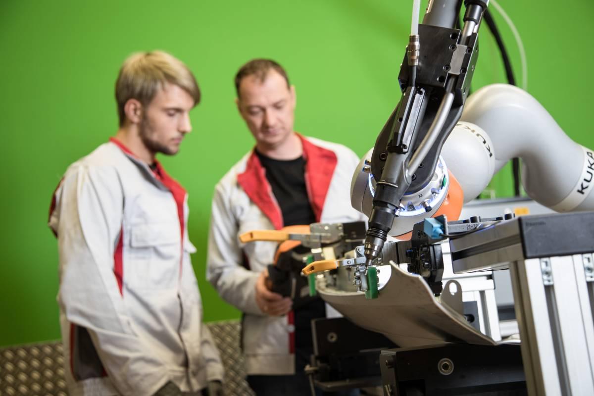 MRK-Roboter Karosseriebau A3