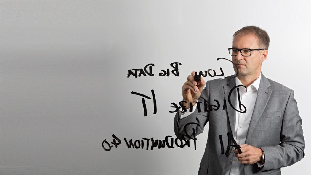 Dr. Sven Lorenz, Leiter Porsche Informationssysteme, 2017, Porsche AG