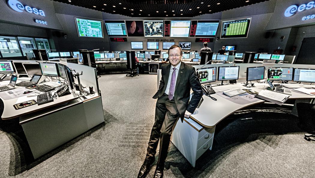 Prof. Johann-Dietrich Wörner, Generaldirektor der Europäischen Weltraumorganisation (ESA), 2017, Porsche AG