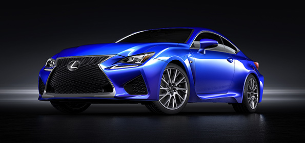 NEW LEXUS RC F COMBINES AGGRESSIVE STYLING WITH HIGH PERFORMANCE