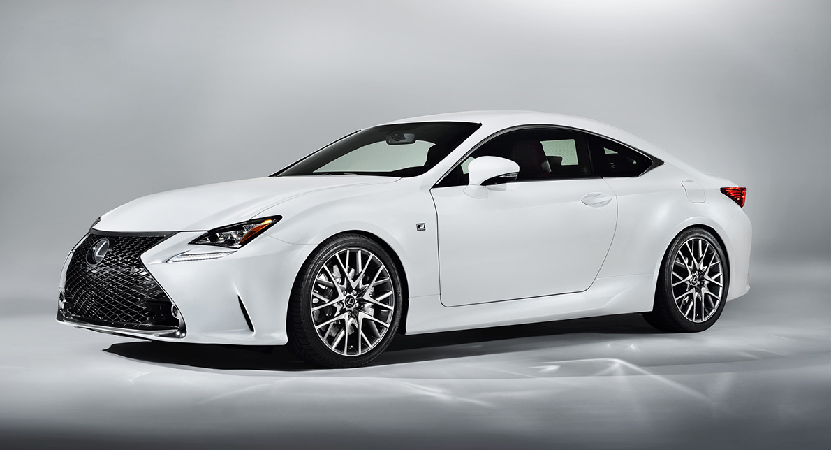 NEW RC F COUPE