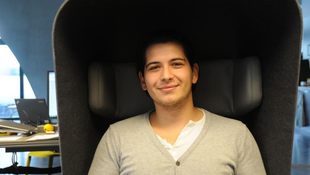 Deniel Horvatic, Mitarbeiter Porsche Digital Lab, 2017, Porsche AG