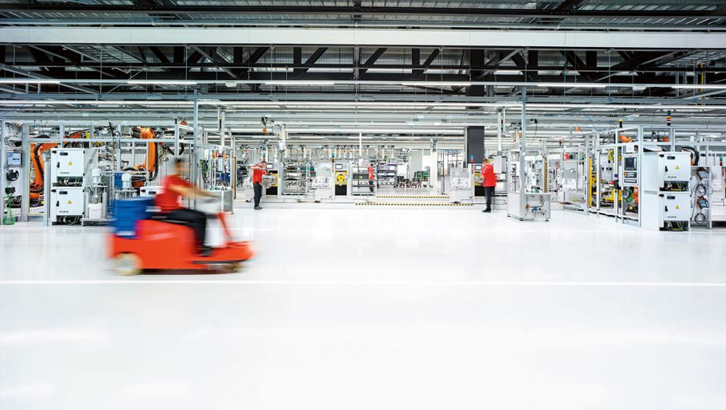 Neues Motorenwerk, Zuffenhausen, 2016, Porsche AG