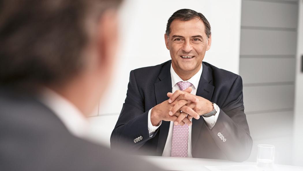 Dr. Michael Steiner, Entwicklungsvorstand der Porsche AG, 2016, Porsche AG
