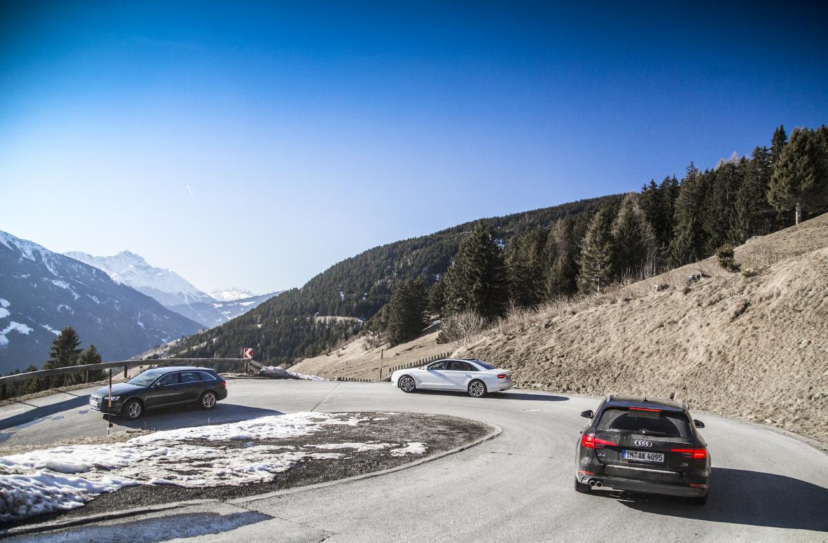 Kälteerprobung der Audi Wischsysteme