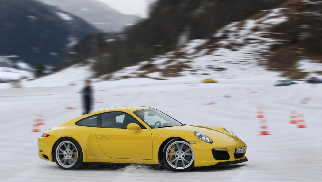 911 Carrera 4S, Porsche Driving Experience Winter, Tamsweg, Österreich, 2017, Porsche AG