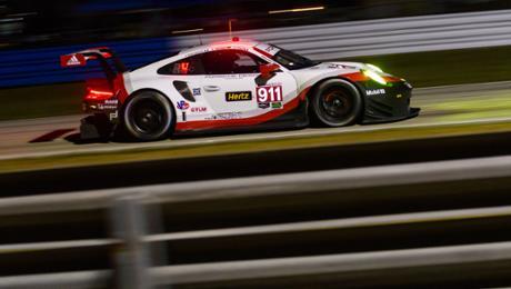 IMSA: 911 RSR in der zweiten Startreihe