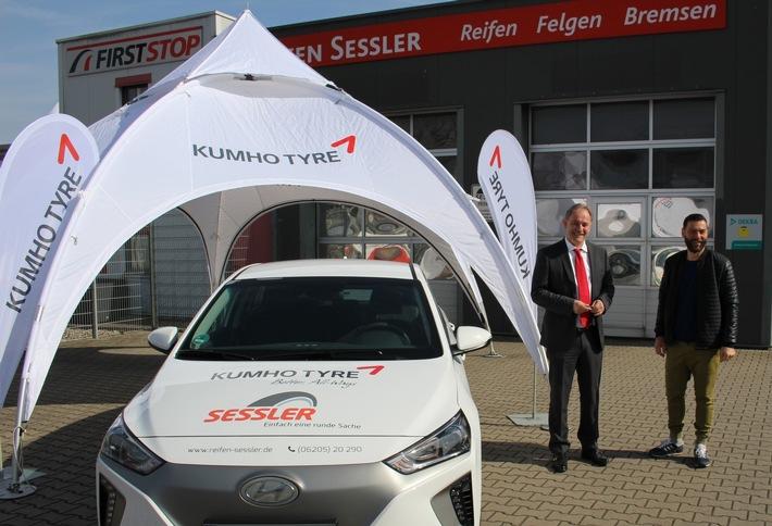 Kumho macht Elektromobilität erlebbar