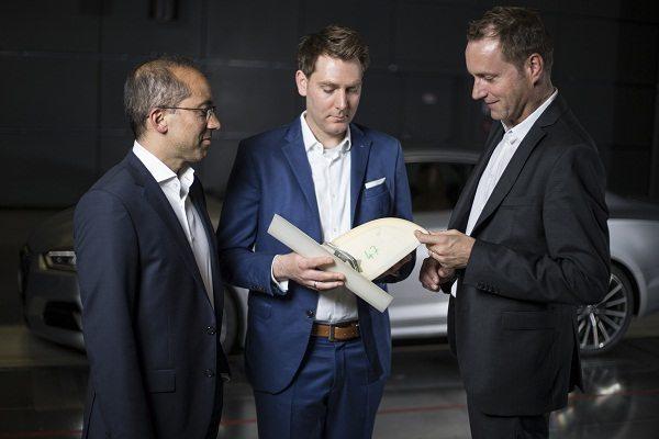 Audi A5 Coupé im Windkanal