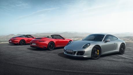 Die neuen 911 GTS-Modelle