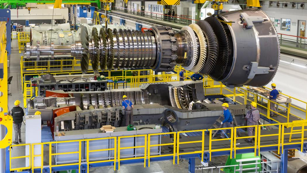 Gasturbinenproduktion, 2017, Siemens AG/Porsche Consulting GmbH