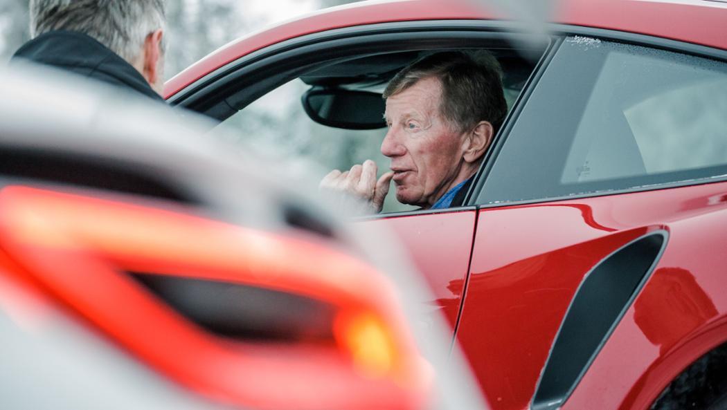Walter Röhrl, Porsche Driving Experience, 2017, Porsche AG