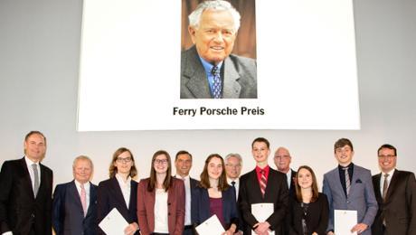 Porsche verleiht Ferry-Porsche-Preis