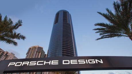 Porsche Design Tower in Miami