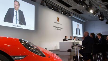 Rekordergebnis für Porsche
