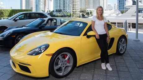 Angelique Kerber in Miami