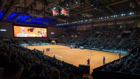 Tennis: Jubiläum in der Porsche-Arena