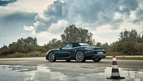 718 Boxster: 100 Prozent Testing