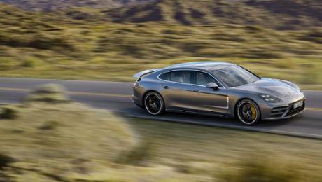 Porsche präsentiert neue Panamera-Modelle