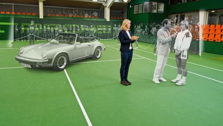 Porsche Tennis Grand Prix: Zurück auf Start
