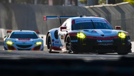 IMSA: Zwei neue 911 RSR beim kürzesten Rennen
