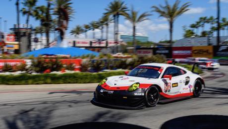 Zweites Podium für neuen Porsche 911 RSR