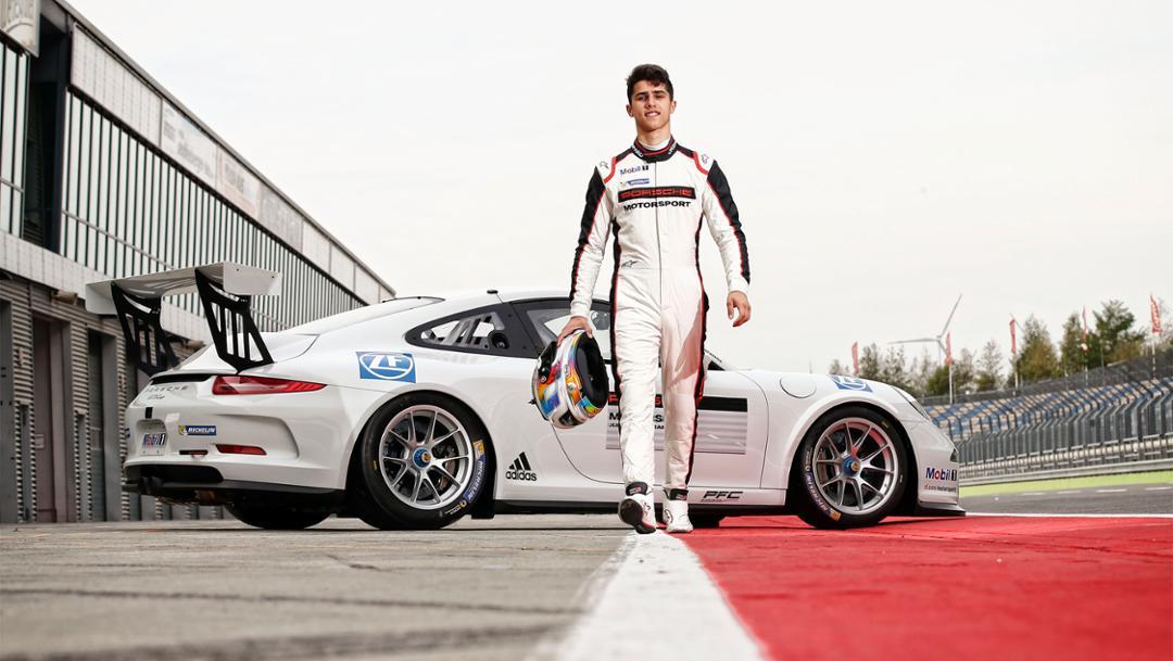 Porsche-Junior Thomas Preining, 2017, Porsche AG