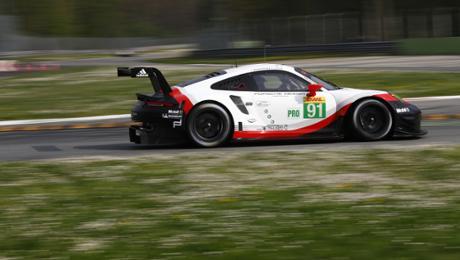 Porsche GT Team benennt dritte Fahrer für Le Mans