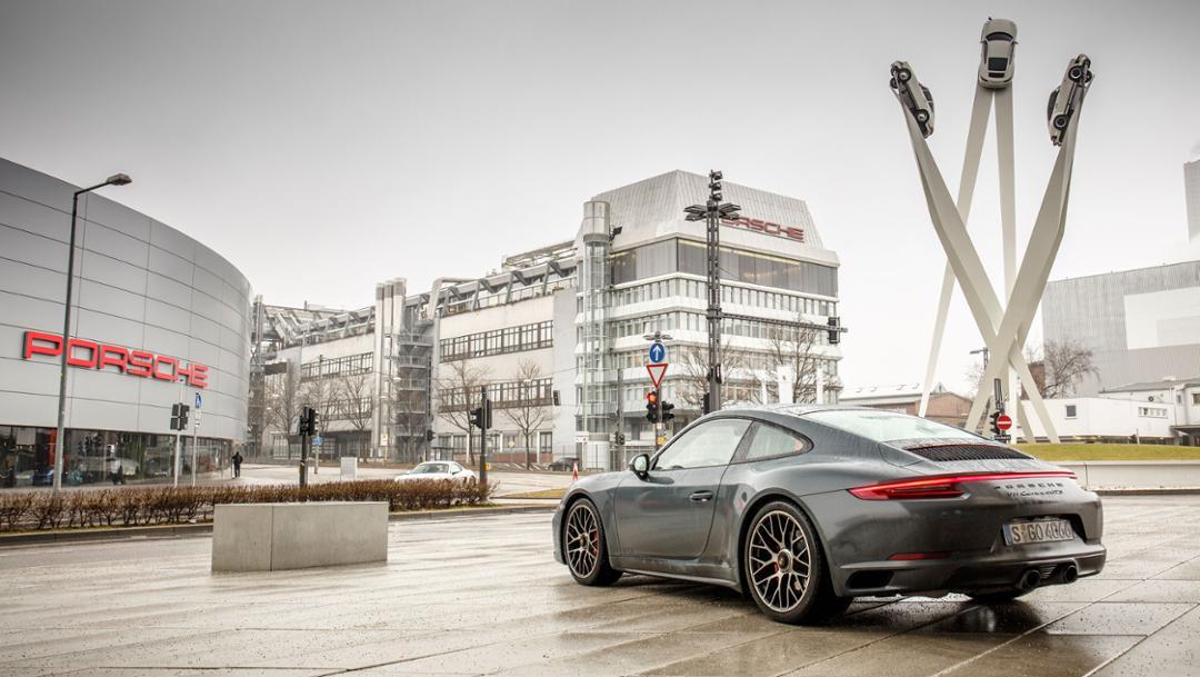 911 Carrera 4 GTS, Zuffenhausen, 2017, Porsche AG
