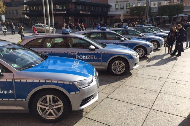Audi Polizeiauto