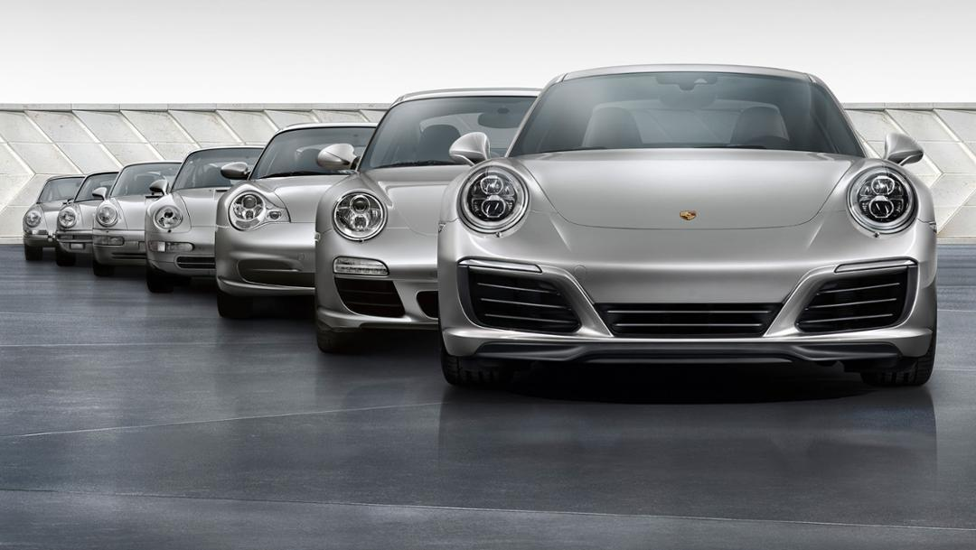 911 Generationen, Porsche AG
