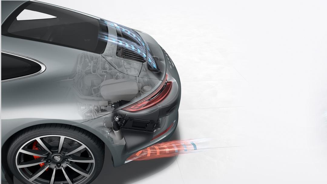 Ladeluftkühlung, 2015, Porsche AG