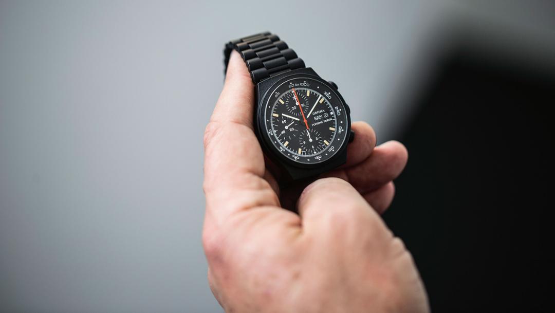 Porsche Design Uhr, 2017 Porsche AG
