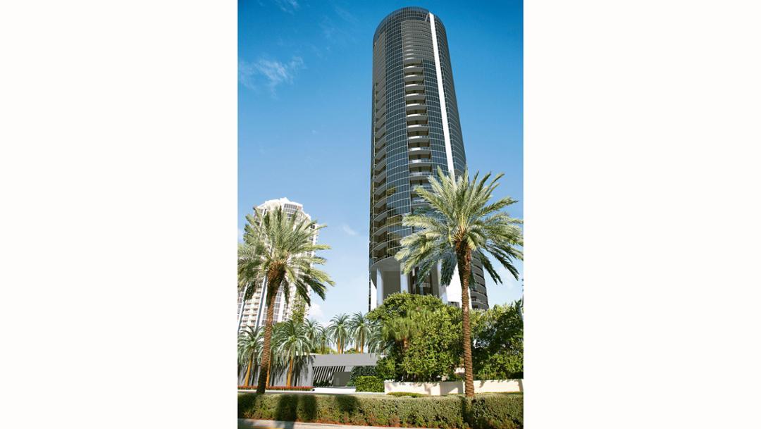 Porsche Design Tower, Miami, 2017 Porsche AG