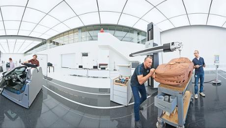 Geheimsache Weissach: Design-Studio