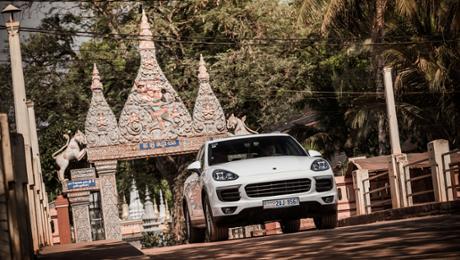 Abenteuer Kambodscha: Porsche Adventure Drive