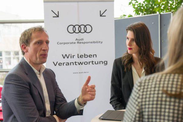 Audi Unilever Wandel