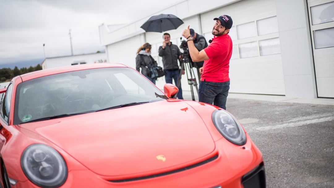 911 GT3, Granada, Andalusien, 2017, Porsche AG