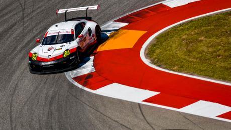 Porsche GT Team vor Aufholjagd