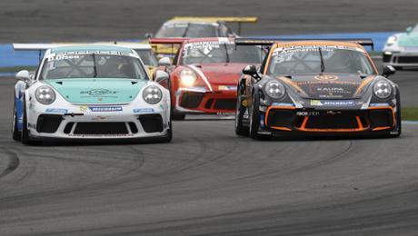 Doppelsieg für Dennis Olsen auf dem Hockenheimring