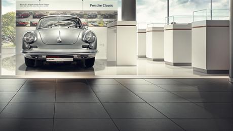 Frankreich: Porsche eröffnet Classic Zentrum